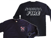 SONORA FIRE DEPARTMENT OFFICIAL LOGO LONG SLEEVE T-SHIRT