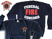 FEDERAL CONCORD FIRE DEPT. CREW SWEATSHIRT