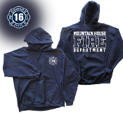 MOUNTAIN HOUSE FIRE DEPT. HOODED SWEATSHIRT