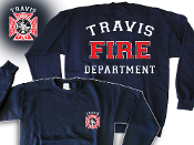 TRAVIS FIRE DEPT. CREW SWEATSHIRT